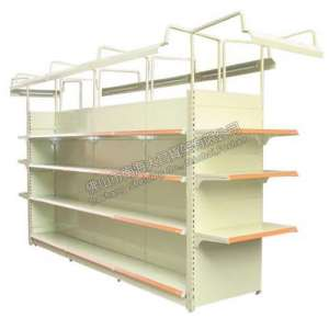 DC26 supermarket shelf with light